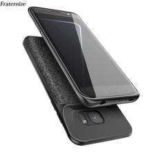 Чехол для зарядного устройства S7 для samsung Galaxy S7, Силиконовый противоударный чехол для зарядного устройства samsung S7 Edge, задняя крышка для зарядного устройства