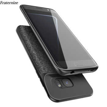S7 Battery Charger Case For Samsung Galaxy S7 Silm Silicone shockproof power bank Case For Samsung S7 Edge Charger Back Cover - DISCOUNT ITEM  40% OFF All Category