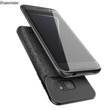 S7 pil şarj cihazı samsung kılıfı Galaxy S7 Silm Silikon darbeye dayanıklı güç bankası samsung kılıfı S7 Kenar Şarj arka kapak