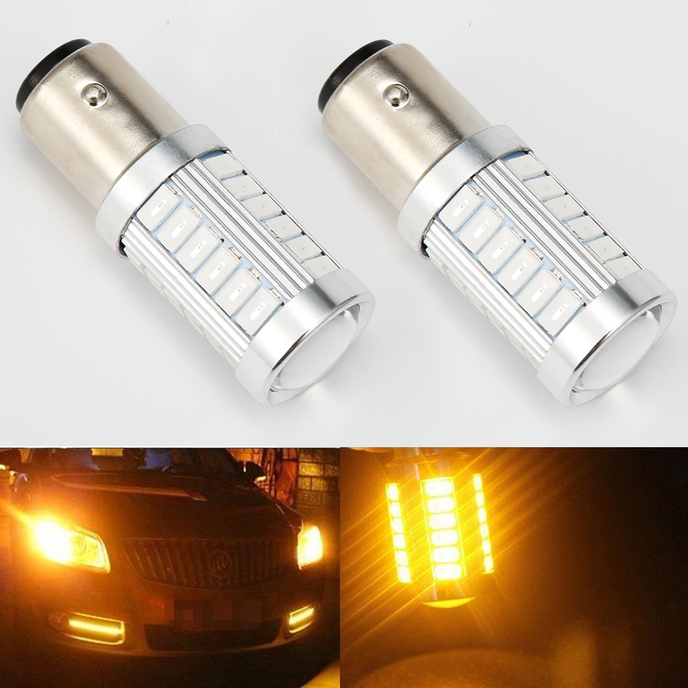 4PC 1157 BAY15D 50 SMD 1206 LED Car Truck Tail Stop Brake Lamp Red Light Bulbs