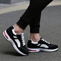 2017 Air Mesh Breathable Mesh Men Casual Shoes Lace Up Flat Trainers Zapatillas Basket Comfortable Light Soft Shoes Men