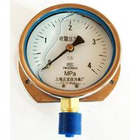 YC 100T 0 4 behind the ship with radial seismic table Y100 Shanghai Zhengbao pressure gauge pressure|ship| |  -