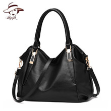 Brand Designer Fahion Women Handbag Female Soft PU Leather Bags Handbags Ladies Portable Shoulder Bag Office Female Bag Totes