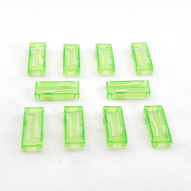 10pcs Servo Extension Safety Cable Wire Connector Lead Locks/Holders for RC Boat Helicopter Airplane High Quality(Color Random)