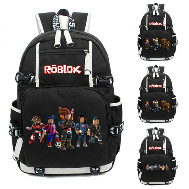 59c2eca89cc1 Roblox personalised edible icing birthday cake topper backpack mochila  travel School Bag for teenagers Casual Laptop bagpack