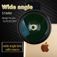 Zomei Mobile Phone Lens Wide Angle Lens 0 45X Super Macro 2 In 1 Lens Kit