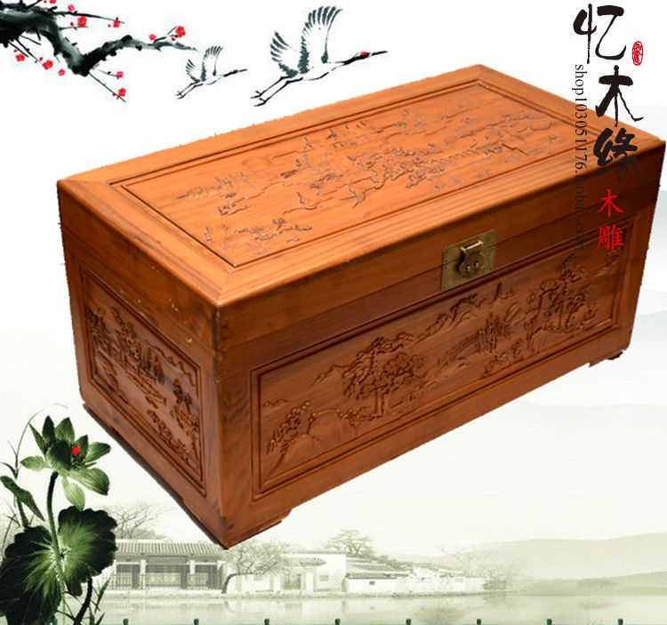 Dongyang woodcarving camphor wood furniture wood carved camphorwood box suitcase box antique calligraphy collection box insect dDongyang woodcarving camphor wood furniture wood carved camphorwood box suitcase box antique calligraphy collection box insect d