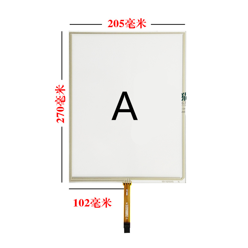 12.1 inch resistive 4:3 touch screen For Industrial display medical device display Point machine machine LCD touch screen industrial display lcd screen8 4 inch khb084sv1aa g83 lcd screen