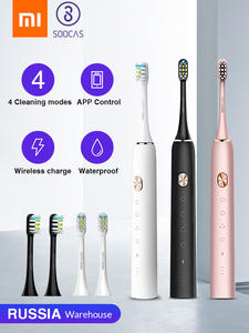 SOOCAS Sonic Toothbrush Upgraded Chargeable Xiaomi Mijia Automatic IPX7 for Adult Waterproof