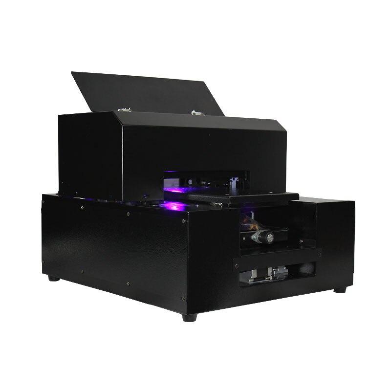 A4 taille LED lampe UV à plat imprimante, téléphone cas A4 imprimante, DHL gratuite Livraison
