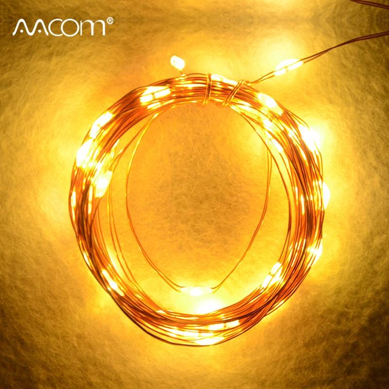 8 Modes Led String Lights 5V USB Powered 5M 50 leds Fairy Lamp Valentines Party Christmas Indoor Decoration Lighting