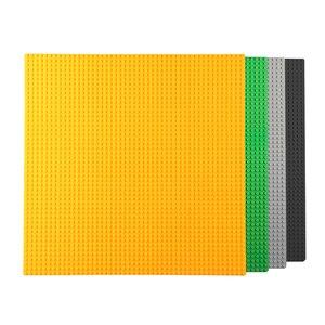 Image 3 - 50*50 punktów małe cegły DIY klocki duże płyta podstawowa 40*40 CM małe klocki klocki dla dla dzieci płyta bazowa