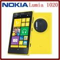 Hot Selling Original Unlocked Nokia Lumia 1020 4.5`` Windows Mobile OS 2GB RAM 32G ROM 41MP 1080P GPS Smartphone Free Shipping