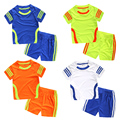 2017 summer children clothing sets cotton striped sports suit toddler tracksuit cuit boys and girls shirt active wear set18