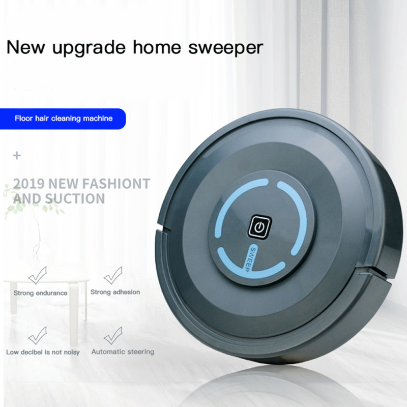 Vacuum-Cleaner Sweeping-Robot Rechargeable Home Smart 3E20 USB Strong-Suction Automatic
