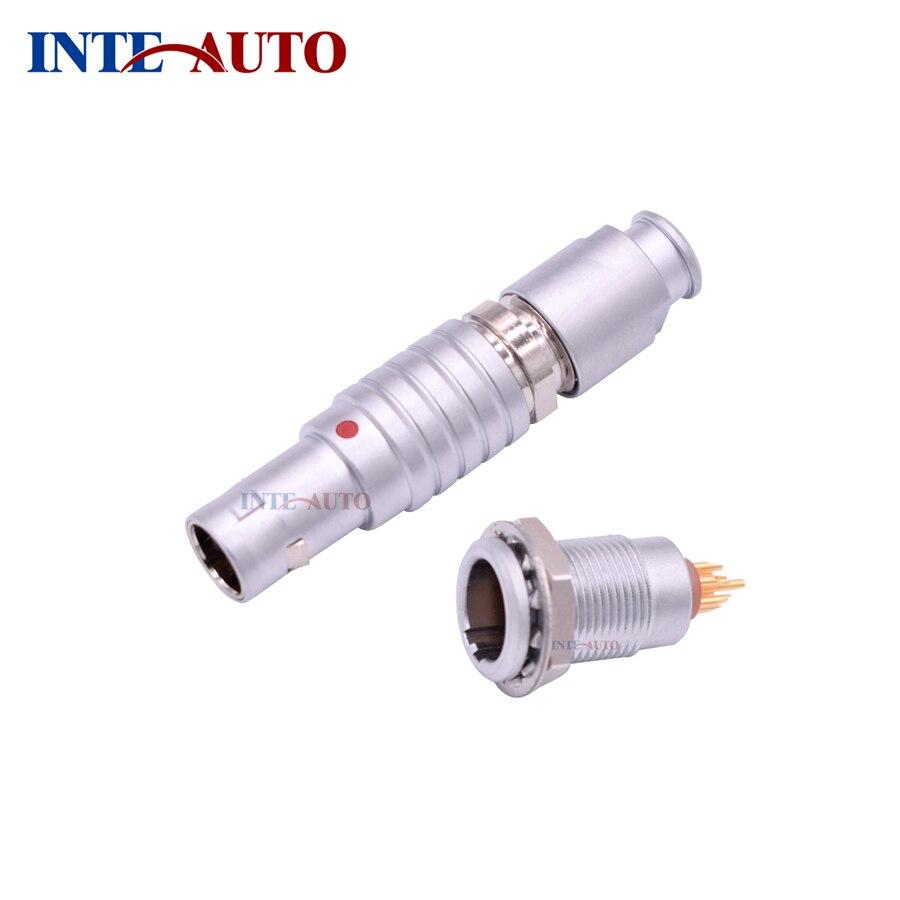 Replace Lemo 0B 1B 2B FGG EGG Push Pull Circular Aviation Connector Plug Socket