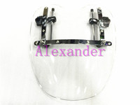 Free Shipping Brand New Motorcycle Windshield Windscreen for Harley Davidson Sportster Dyna Glide Softail XL 883 1200 White xl