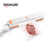TintonLife 220V Household Food Vacuum Sealer Packaging Machine Film Sealer Vacuum Packer Including 15Pcs Bags Free