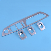Car Silver Door Armrest Button Window Switch Cover Trim Fit for BMW X5 E70 X6 E71 2008 2009 2010 2011 2012 2013