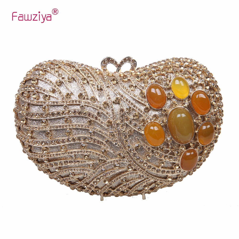 Fawziya Carnelian Stone Evening Bags And Purses For Women Clutch Evening Clutch Bags Women Wedding Bags fawziya apple clutch purses for women rhinestone clutch evening bag