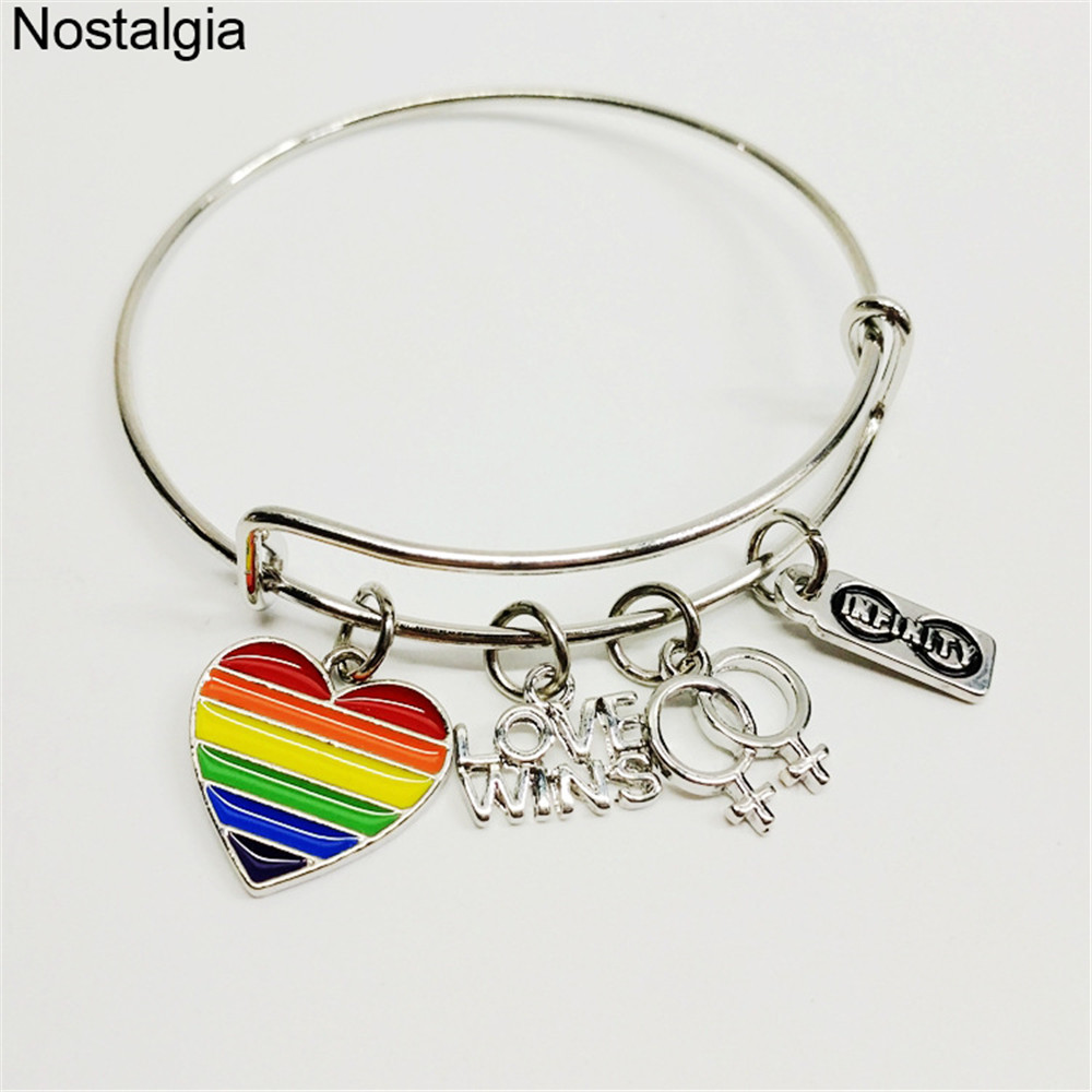 US $4.72 20% OFF|Nostalgia Infinity Love Wins Female Symbol Rainbow on capacitor symbol, union workers symbol, witchery symbol, integrated circuit symbol, relay symbol, ldr symbol, descendents symbol, wince symbol, switch symbol, boyd rice symbol, flex duct symbol, thermocouple symbol, line symbol, diode symbol, fuse symbol, light bulb symbol, antenna symbol, led symbol, motor symbol, copper recycling symbol,