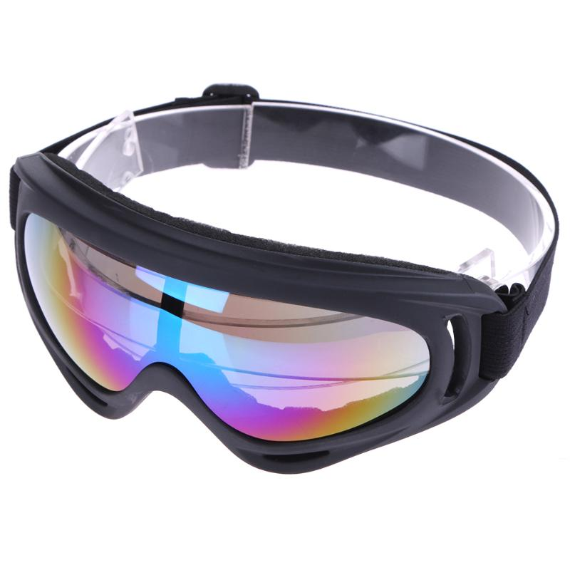 2pcs Winter Skiing Eyewear Tactical Protection Goggles Snow Snowboard Windproof UV Sports Motorcycle Cycling Goggles Sunglasses