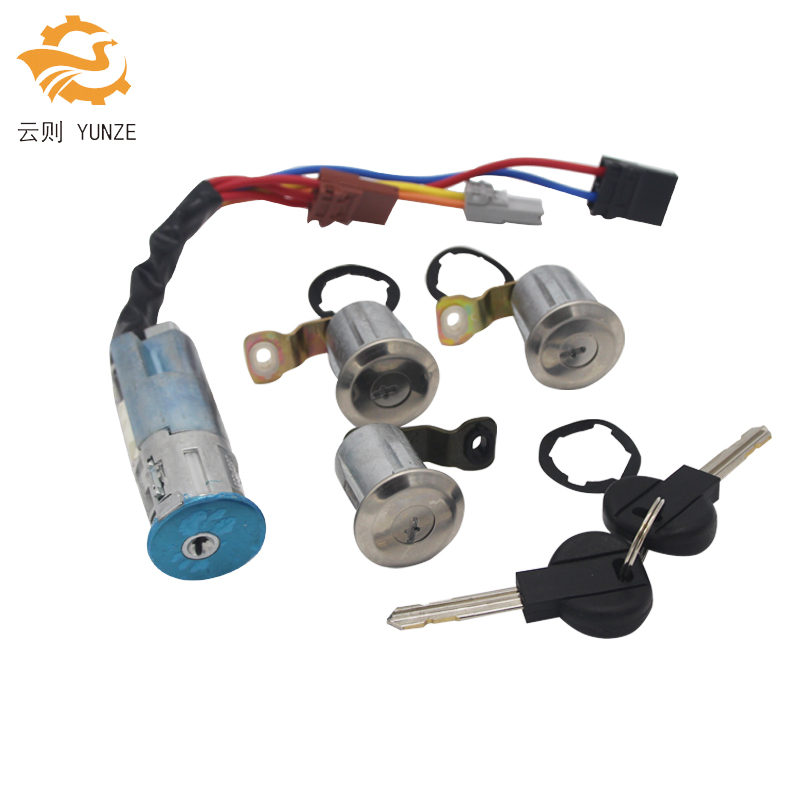 OE 9170G3 252522 IGNITION SWITCH LEFT RIGHT DOOR LOCK CYLINDER WITH 2 KEYS FOR CITROEN BERLINGO XSARA PICASSO PEUGEOT PARTNER for renault kangoo complete lock set ignition switch left right door lock barrel cylinder with 2 same keys page 2