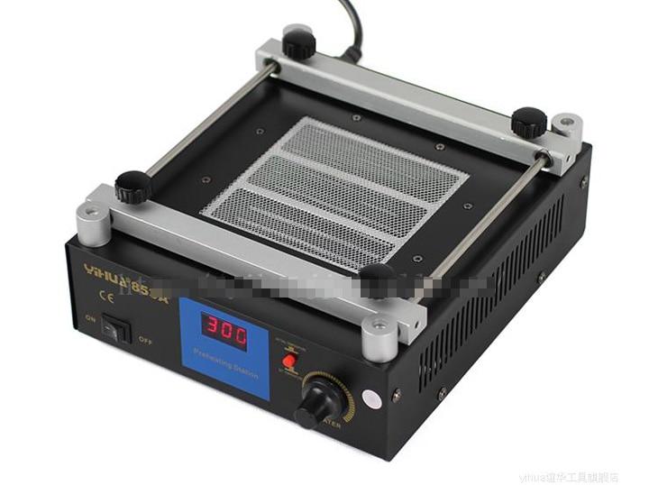 Wholesale 7PCS/LOT YIHUA853A constant temperature leadfree preheating station BGA rework station 853a bga constant temperature lead free preheating stations