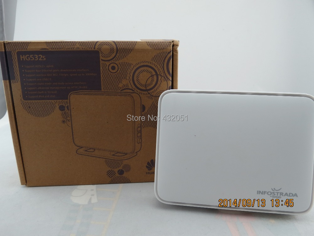 Huawei Hg532e 300m Wireless Router + Adsl2modem