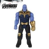 30cm Titan Hero Marvel Avengers 3 Infinity War Thanos figura de acción de juguete de PVC modelo coleccionable juguetes para niños