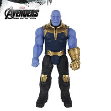 30cm Titan Hero Marvel Avengers 3 Infinity War Thanos Action Figure Toy PVC Collectible Model Toys for Children(China)