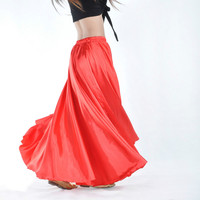 New Design Belly Dance Skirt For Women Tribe Gypsy Indian Dress Multicolor Bollywood Dance Costumes Skirt