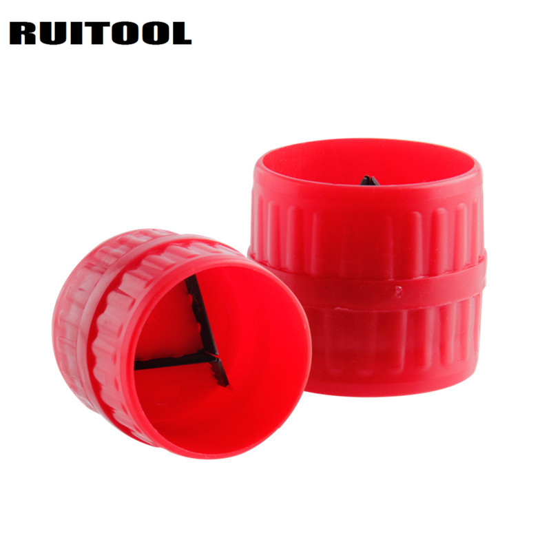 RUITOOL Mini Tube Reamer Cutter Remove burrs Inner Outer Cutting Tool For PVC Copper Aluminium Steel Pipe Plastic Pipes pc 304 cutters for plastic pipes cutting pvc pipes tube diameter 6 26mm