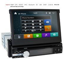1 Din Car DVD Gps Navigasi Pemain untuk Universal Mobil Radio Musik Bluetooth Kamera Belakang SD USB untuk Auto radio 1din Navi Cam