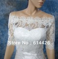 Custom made lace Wedding jacket Bridal Wraps half Sleeves  Bolero Wedding Accessories  retail and wholesale