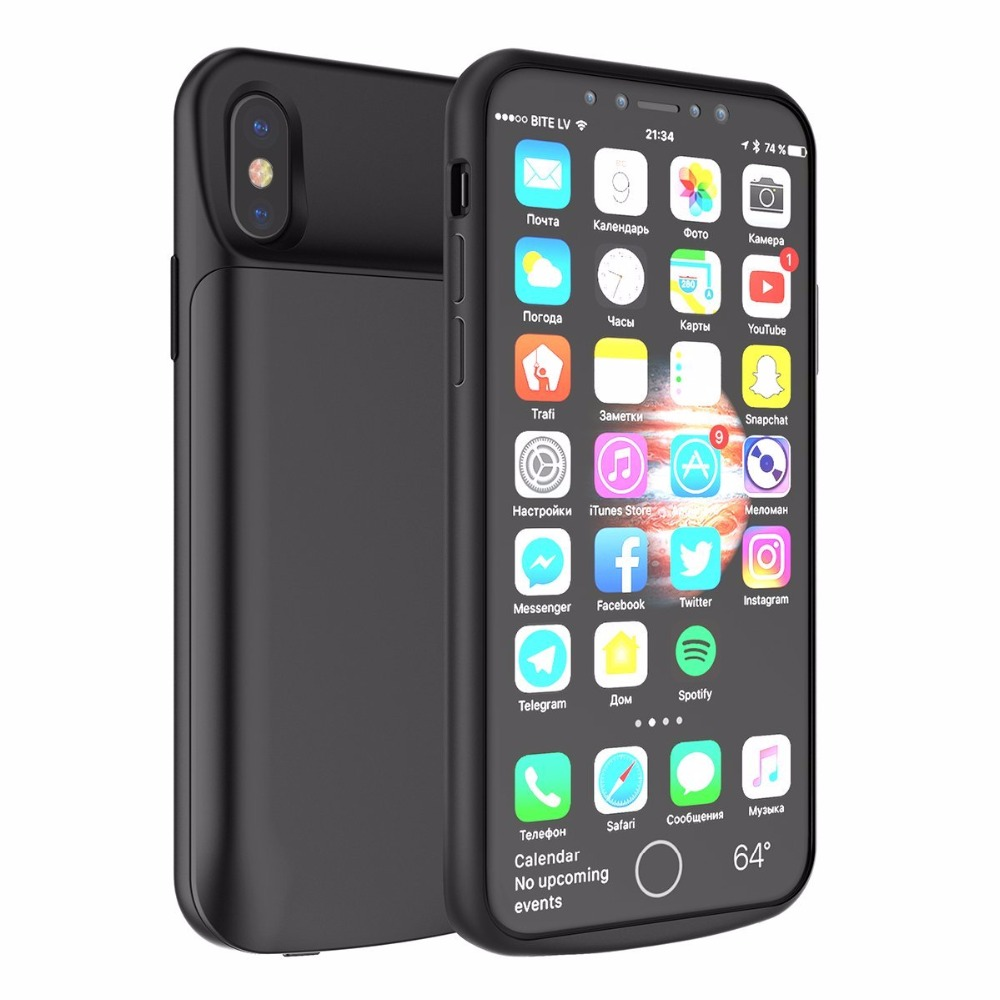 iphone 6 charging case for iphone x battery portable external charging 14961