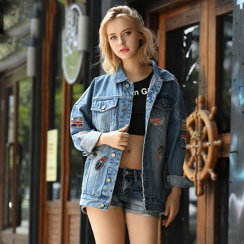 Online Get Cheap Denim Jacket Style -Aliexpress.com | Alibaba Group