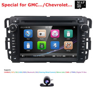 Автомобильный DVD gps стерео радио Nav для GMC Yukon Sierra Chevrolet Chevy Tahoe Suburban CANBUS SD, USB, RDS, BLUETOOTH, IPOD, 3g, SWC карта + Cam