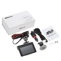 KKMOON 4 1080P Three Lens Car DVR Dash Cam Camera Camcorder Night Vision / G sensor / Motion Detection / Loop Recording