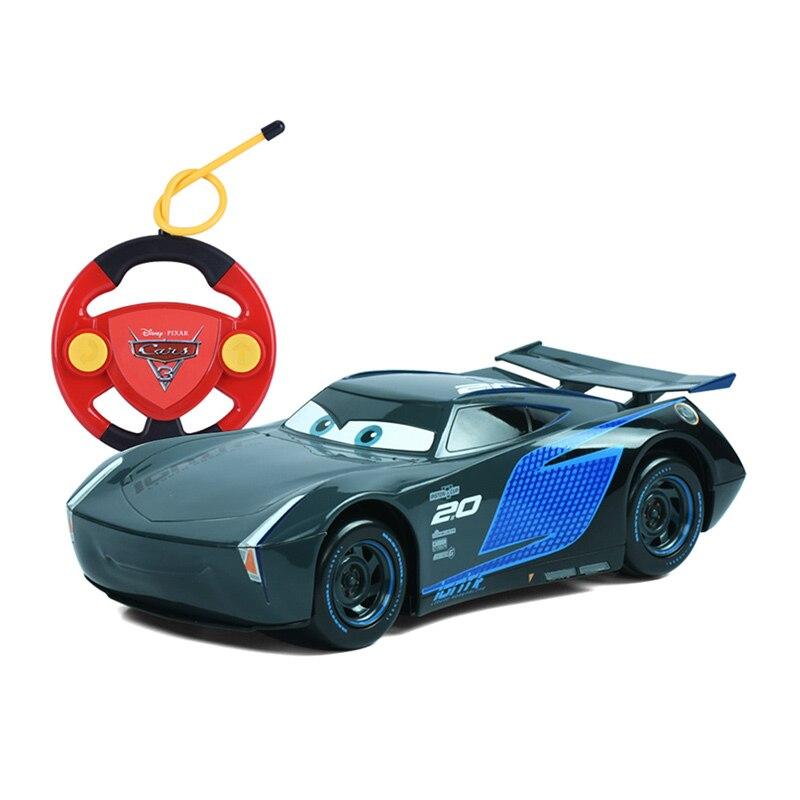 Disney Cars 3 Rc Carros Remote Control Storm Jackson Cars 3 For Boys