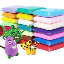 12 24 36 шт./компл. мягкая глина, с инструментами Красочные крафт-игрушка для детей, полимерная глина, пластилин детский сад Развивающие игрушки для детей