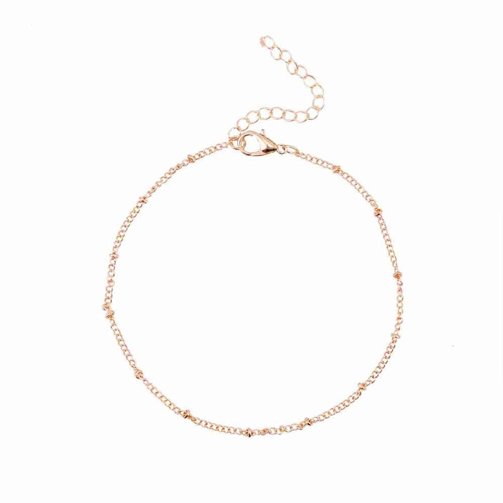 EN Barefoot Beach double hook tassel bracelet anklet foot jewelry anklet toe ankle bracelets anklets female factory direct
