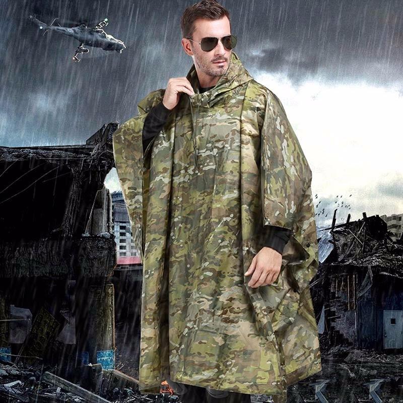 VILEAD Nylon Impermeable Outdoor Rain Coat Waterproof Raincoat Women <font><b>Men</b></font> Cloak Durable Motorcycle Poncho Camping Tour Rainwear