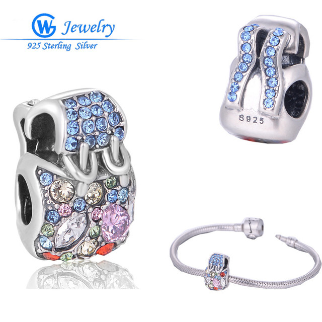 Reparto estupendo de la manera de las mujeres bolsa de cuero slide encantos de estilo europeo pulseras gw fine jewelry x026h10