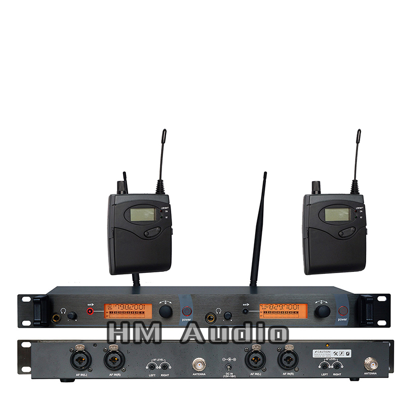 In-Ear-Monitor Wireless-System SR2050 Doppelter Sender Monitoring Professional für Bühnenperformance