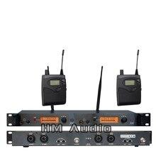 In Ear Monitor di Sistema di SR2050 Doppio trasmettitore Senza Fili di Monitoraggio Professionale per la Prestazione Della Fase