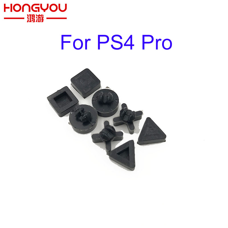 30sets Non-slip Silicon Rubber Feet Cover Replacement For Sony PS4 Pro/Slim Console Shell Housing Bottom Pad