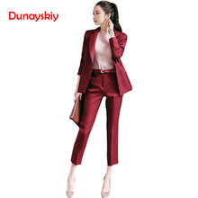 Women's OL Style Fashion Black Suits Sets / Female Business