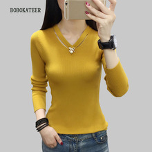BOBOKATEER christmas sweater women winter turtleneck pull femme hiver clothes knitted pullover sueter mujer invierno 2019