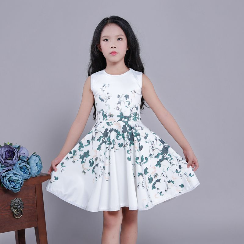 ФОТО Baby Girls Dresses Brand Princess Dress Girl Clothes Kids Dresses Children Costumes 2-10 Years Old
